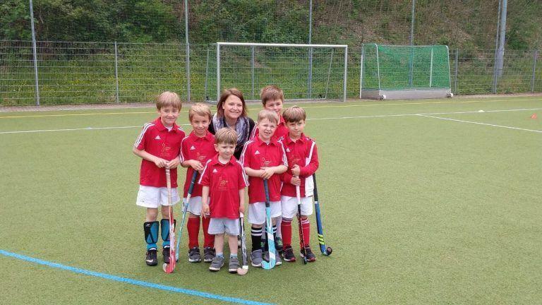 Hockey Mannschaft Gruppenbild Bambinis Minis