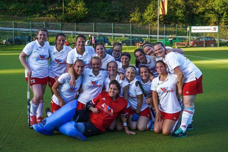 Hockey Mannschaft Gruppenbild Damen HCG