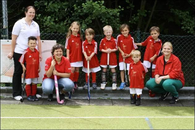 Hockey Minis Bambinis Gruppenbild Mannschaft