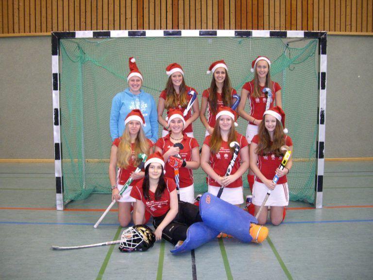 Hockey Mannschaft Bild Mädchen Hockey Club Gernsbach 1919