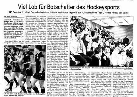 Hockey Zeitung