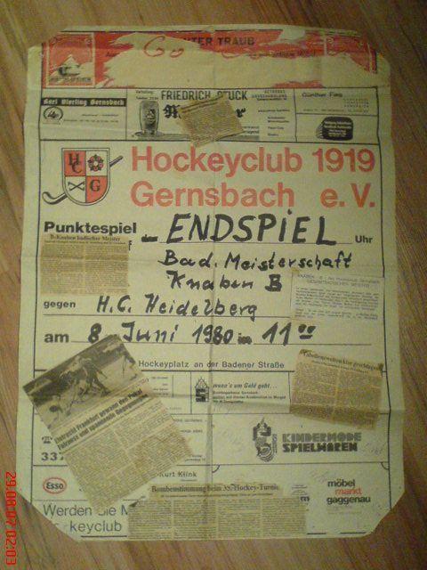 Hockey Flyer Zeitung