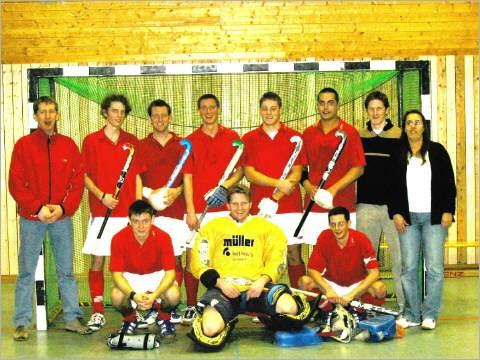 Hockey Mannschaft Gruppenbild
